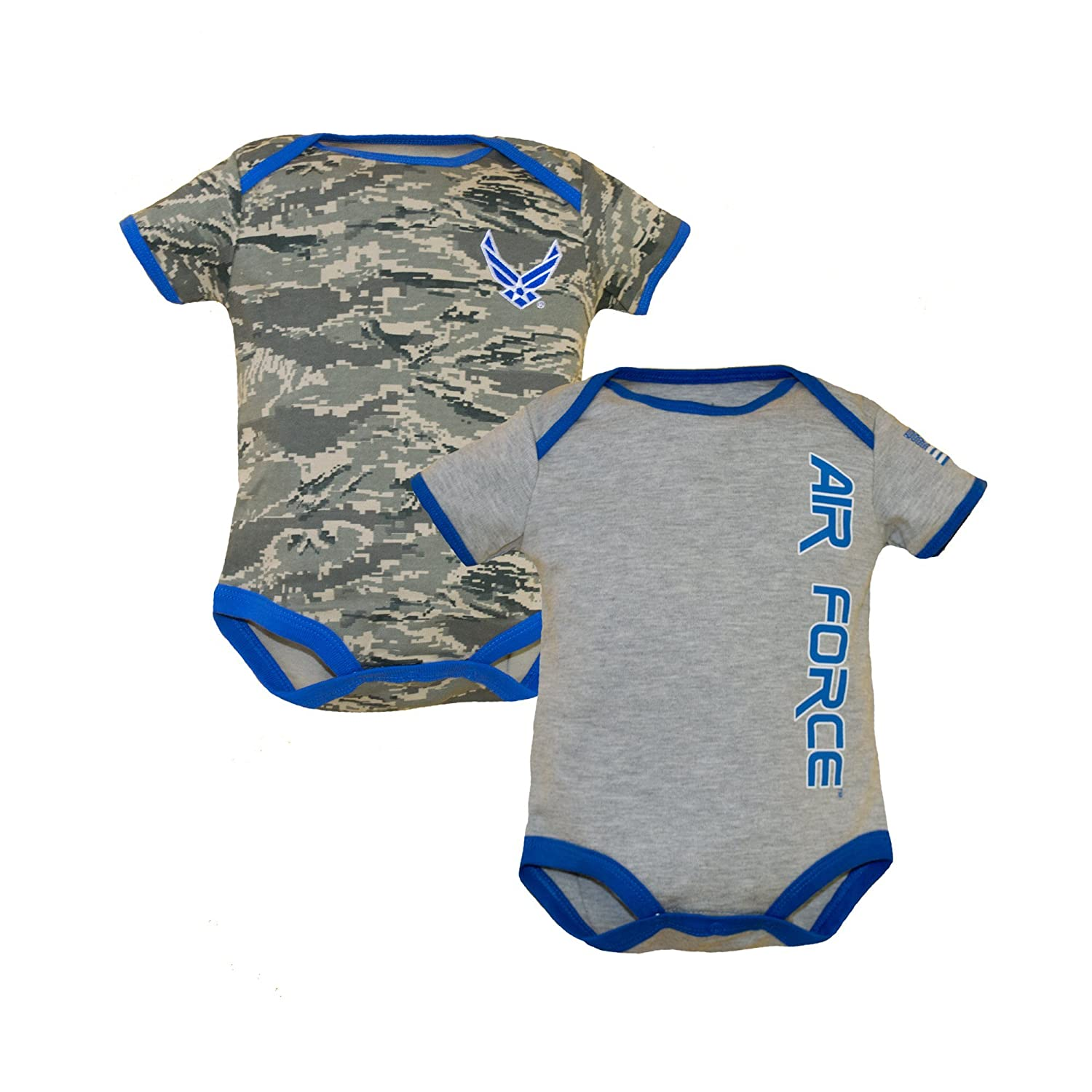 Trooper Clothing Air Force Infant 2pk Bodysuits