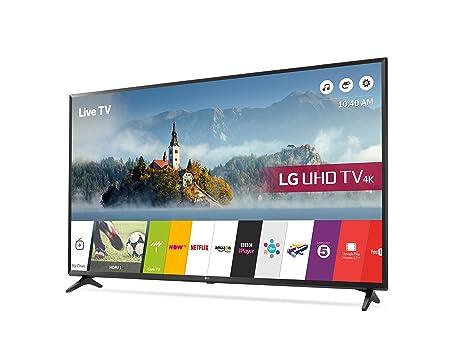 LG 49UJ630V 49 inch 4K Ultra HD HDR Smart LED TV (2017 Model ...