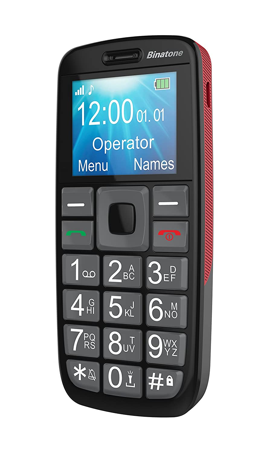 Binatone Big Button 1 77 Inch Colour Screen Gsm Mobile