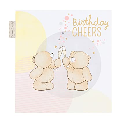Amazon Hallmark 25479444 Forever Friends Birthday Cardcheers