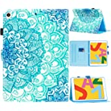 """SUPWANT iPad 10.2 2019 Case, iPad 7th Generation 10.2"""" Cases, Shockproof Protective Stand Case Cover with Kickstand, Pencil Holder, Auto Wake/Sleep for iPad 10.2 Inch 7th Gen 2019, Mandala"""