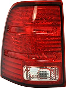 Dependable Direct Driver Side (LH) Tail Light Lamp for 2002-2005 Ford Explorer (excluding Sport Model) FO2800159 1L2Z13405AA - Does not Include the Bulb