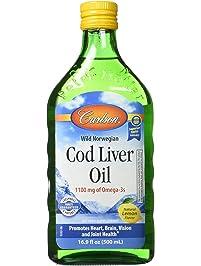Fish oil health household cod liver shark for Carlson fish oil amazon