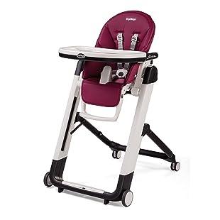 Peg Perego Siesta High Chair, Raspberry