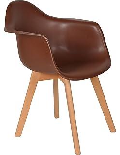 ts-ideen 1x Design Stuhl Wohnzimmer Esstisch Küchen-Tisch Esszimmer ...