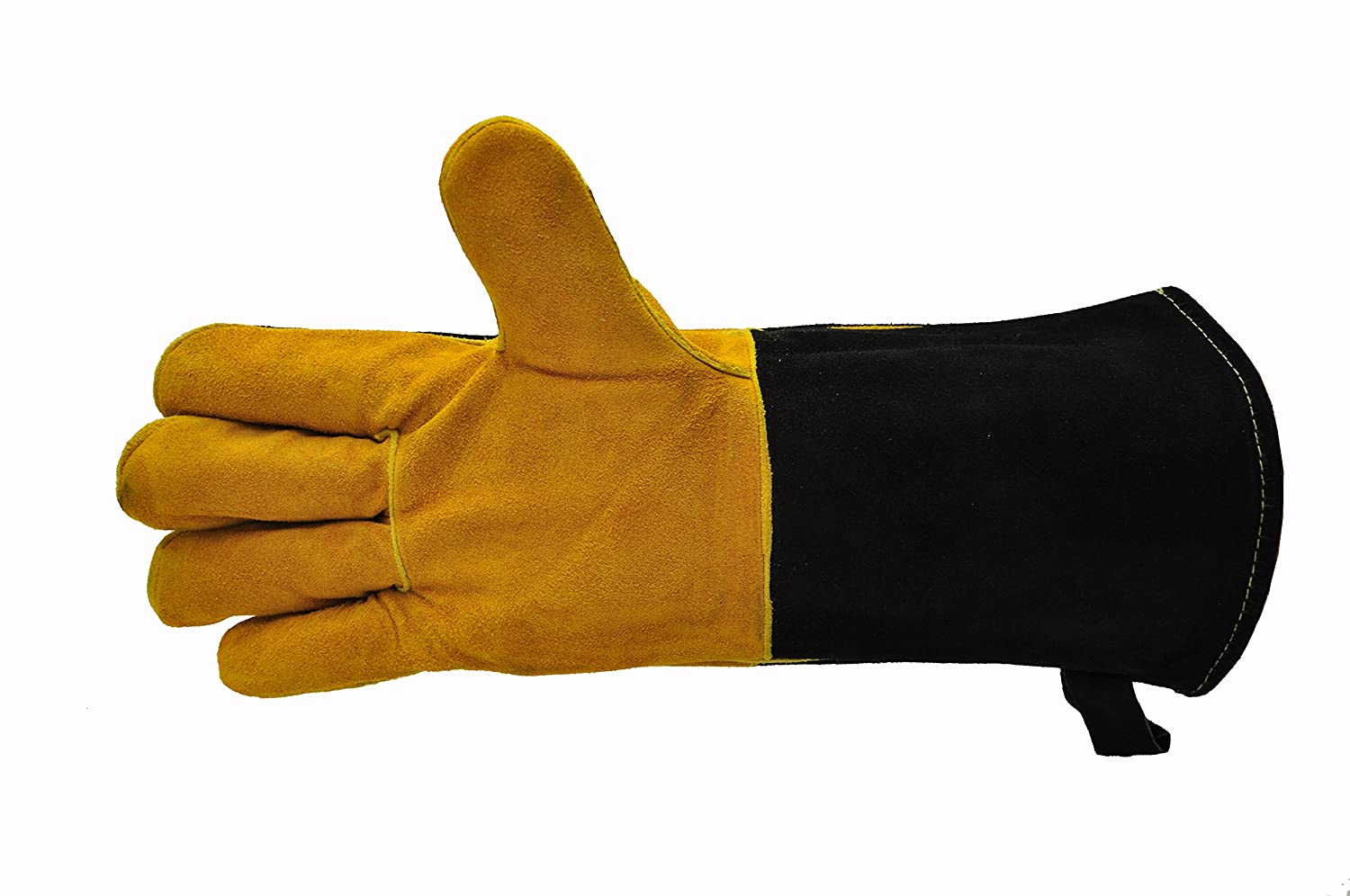 Leather work gloves ireland - Grillpro Black Leather Bbq Gloves Amazon Com G F 8113suedeleather Premium Suede Leather Gloves Bbq Gloves