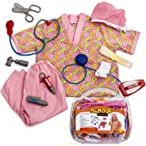 Tigerdoe Nurse Costume for Kids - Kid Nurse Kit - Dress Up Clothes - Toy Nurses Accessories W/Case by