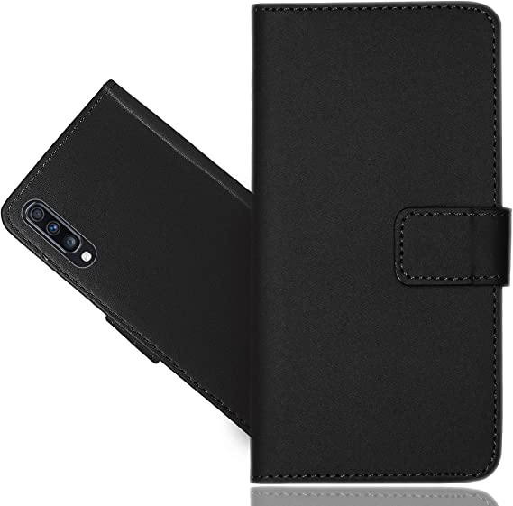 Extra-Shockproof Kickstand Card Holders skull2 Wallet Case for Samsung Galaxy A70 Leather Cover Compatible with Samsung Galaxy A70