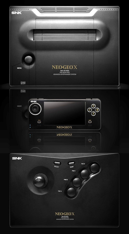 Console Neo Geo X Gold Edition Asian: Amazon.es: Juguetes y ...