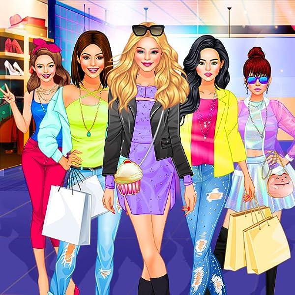 Amazon Com Girl Squad Fashion Bff Fashionista Dress Up Game