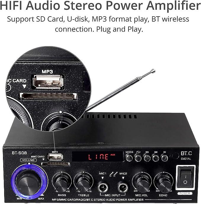 Prozor Bluetooth Stereo Audio Verstärker Elektronik