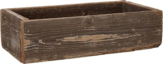 Amazon Com Old Farmhouse Barnwood Decorative Rustic Display Box