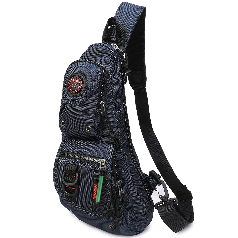 Sling Backpacks, Sling Chest Bags Shoulder Fanny Pack Crossbody Bags for Men Women Outdoor Travel Walking Dog Running 36501