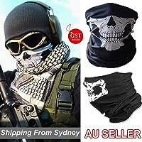 Skeleton Ghost Skull Face Mask Biker Balaclava Call of Duty COD Costume Head Sh