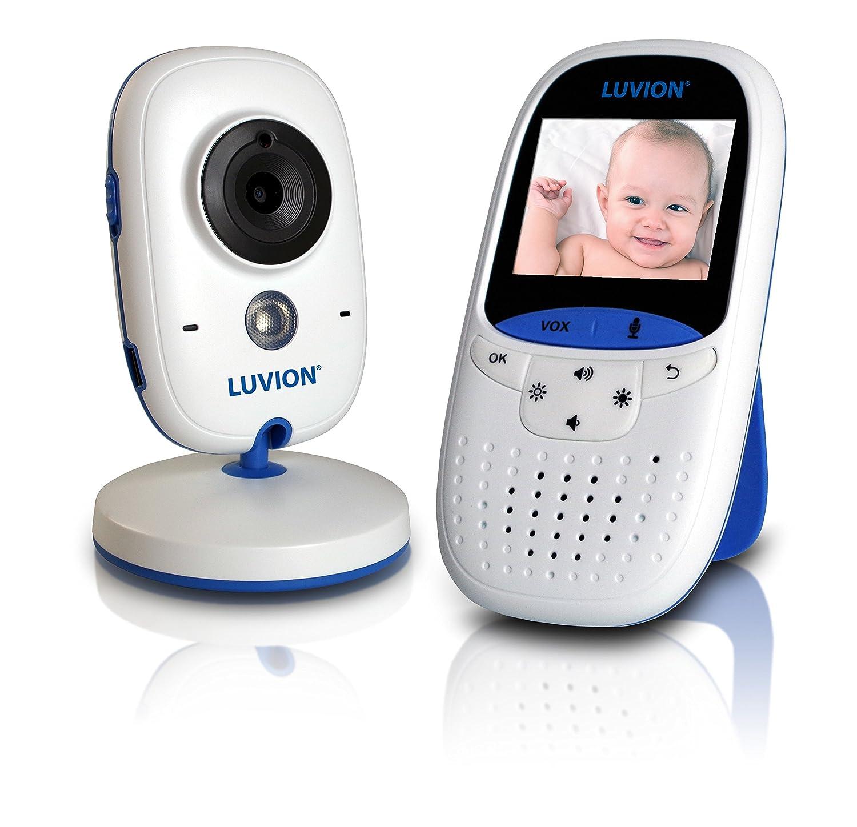 Luvion Easy Easy digitales Video - Babyphone mit 2 Zoll Farbbildschirm, VOX Modus und Gegensprechfunktion