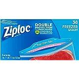 Ziploc Freezer Bags, 114 Count