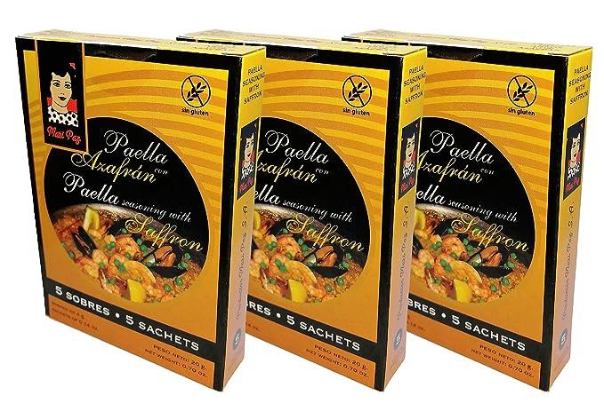 Mari Paz Sazonador para Paella 5 sobres - [Pack 3]