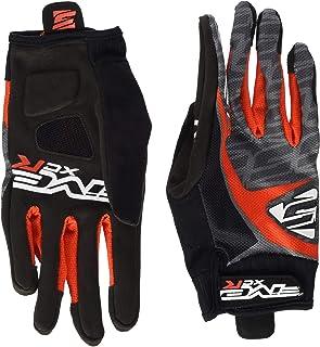 FIVE XC-r Replica Gants de vélo Adulte Unisexe, Noir/Rouge, S