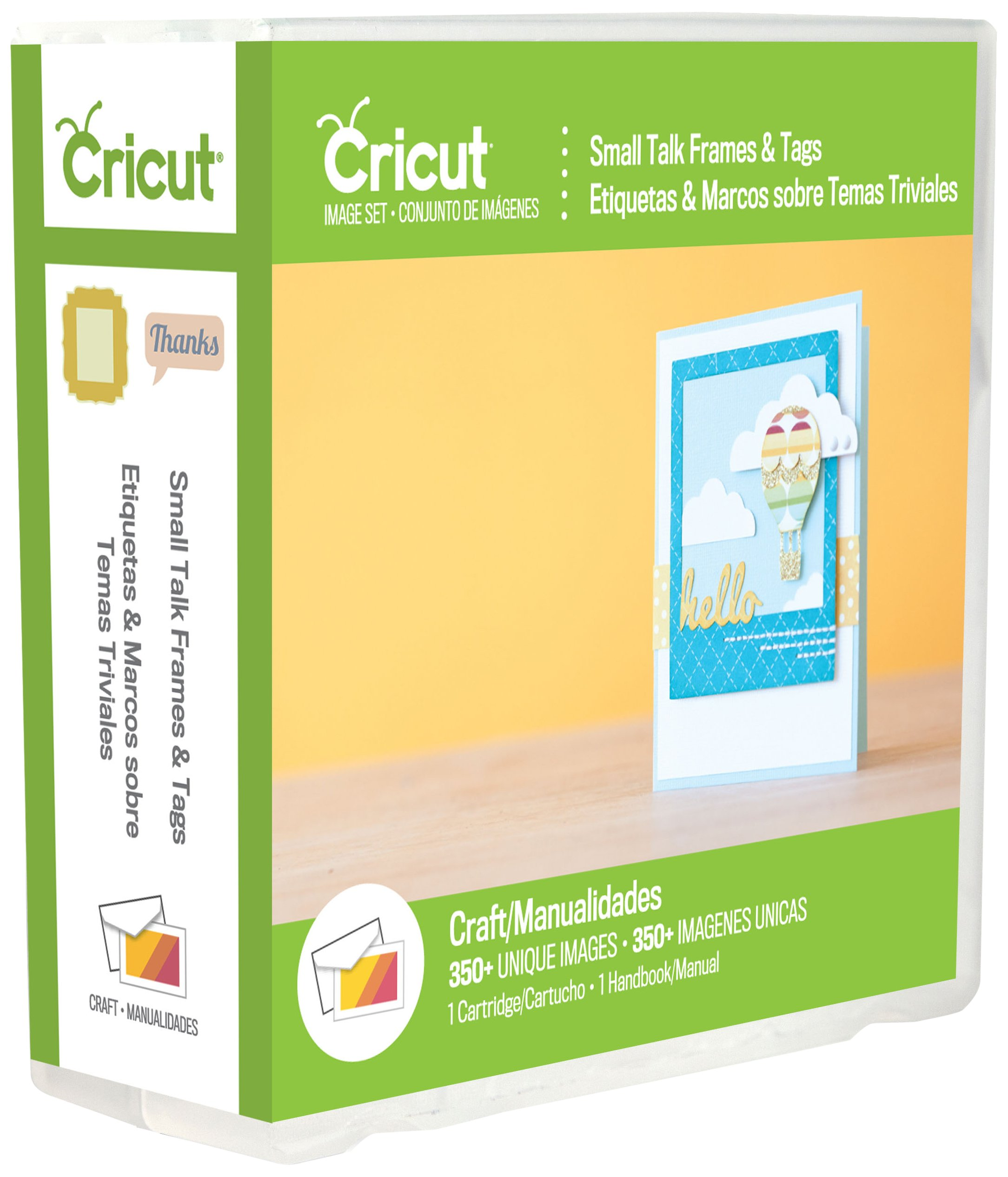 Cricut 2002240 Talk Frames and Tags Cartridge for Artwork, Small