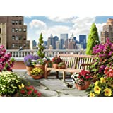 Ravensburger Rooftop Garden 500 Piece Large Format Jigsaw Puzzle for Adults – Every Piece is Unique, Softclick…