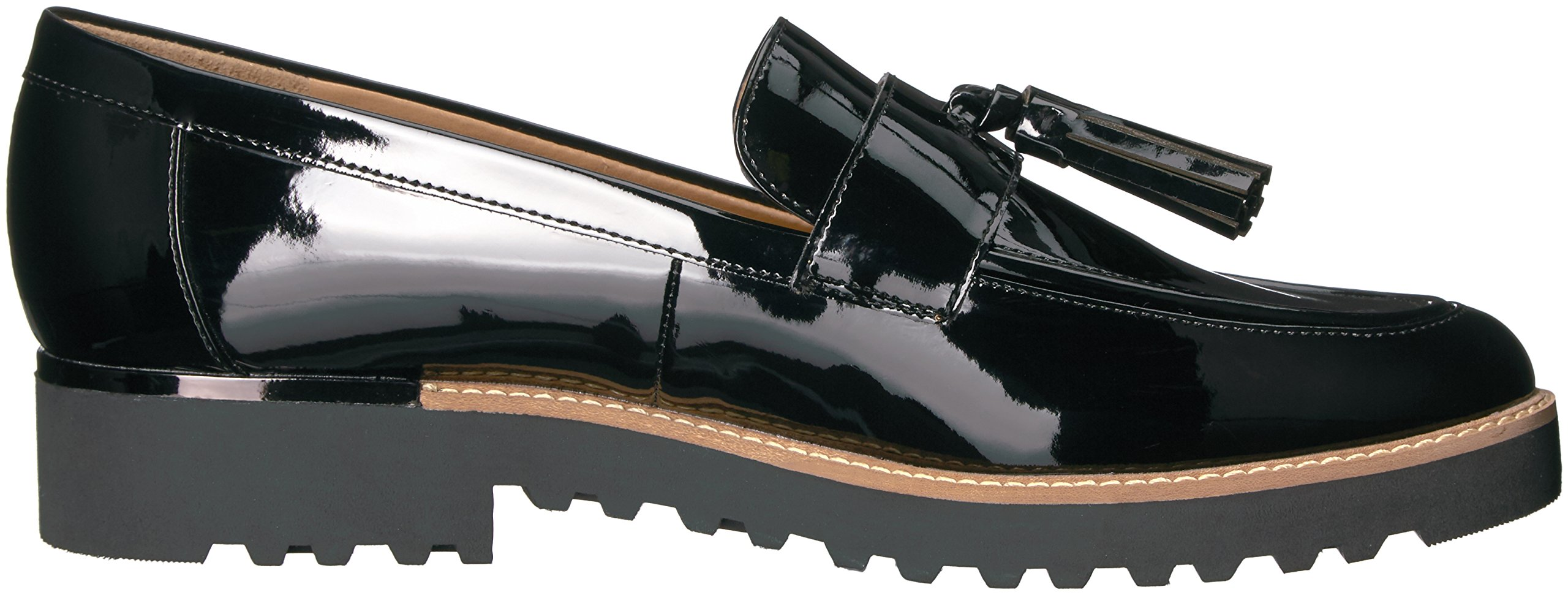Franco Sarto Women's Carolynn Loafer Flat, Black, 9 M US by Franco Sarto (Image #7)