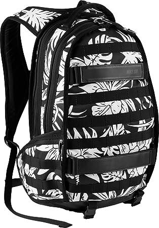 bd40fe1554b1 Nike SB RPB Graphic Tropic Skateboarding Backpack Black White ...