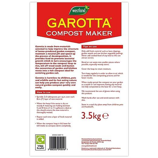 Garotta Activateur de Compost 3,5 kg