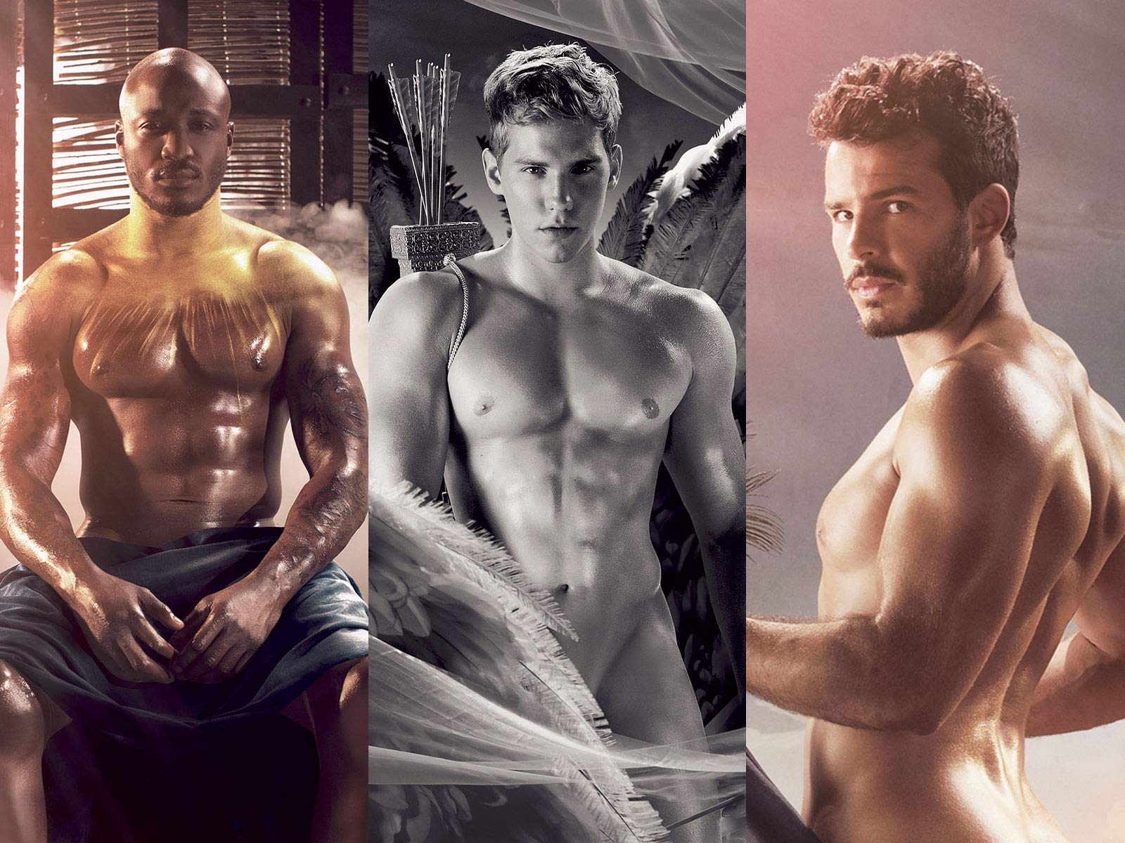 The French Rugby Team Locker Room Nudes DIEUX DU STADE Official Calendar 2019 + 12 DIEUX DU STADE Fridge Magnets Set by GIFTSCITY (Image #5)