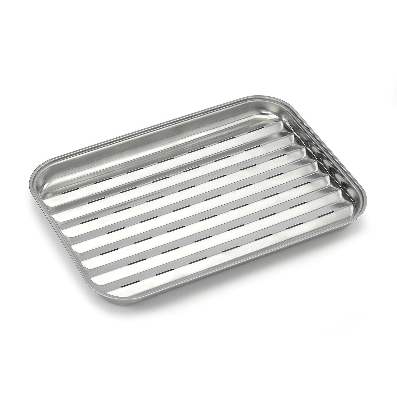 Barbecook Grilles de cuisson antiflammes, Acier Inoxydable 3 x 35 x 24 cm 223.0220.100