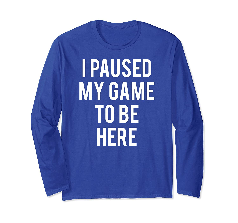 Gaming Sweater Funny gamer nerd geek sweatshirt jumper gift-mt