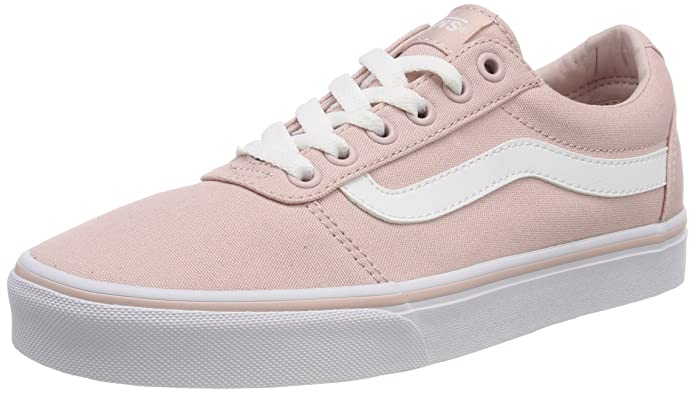 Vans Ward Sneakers Canvas Damen Rosa (Pink Sepia Rose)