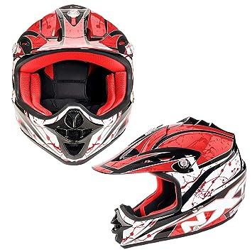 Casco de moto para niños, motocicleta, scooter, motocicleta, motocicleta, scooter MX