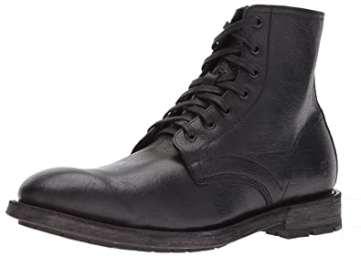 e7219a193cb FRYE Men's Bowery Lace Up Ankle Bootie Black 11 M
