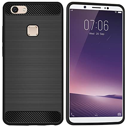 cheaper bc874 f4b1f Amagav Shock Absorbing Textured Soft TPU Back Cover: Amazon.in ...