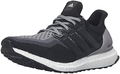 quality design a3f18 f5a05 adidas Performance Women s Ultra Boost Running Shoe,Black Black Grey,5 M