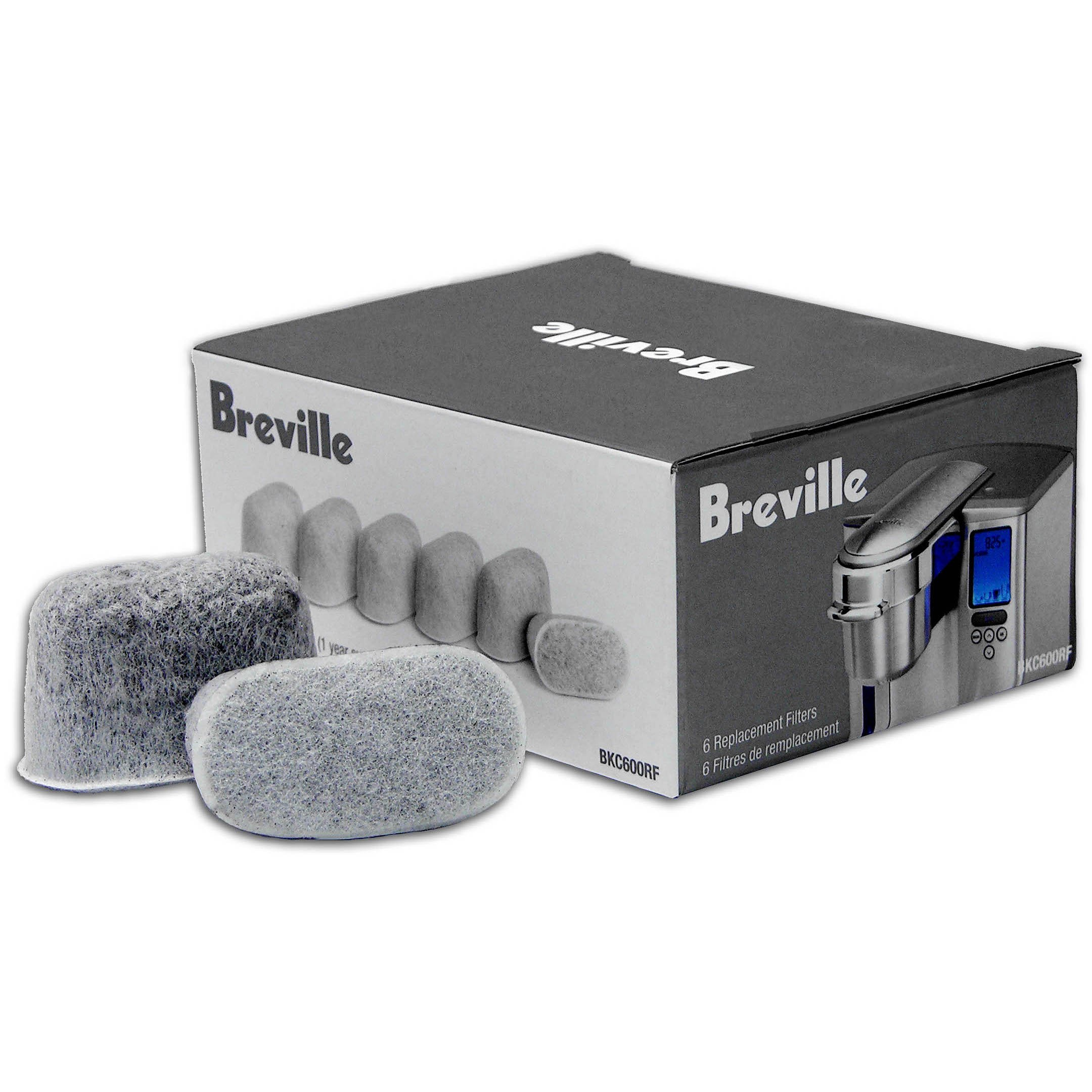 Breville Replacement Charcoal Filters Set Of 6 by Breville