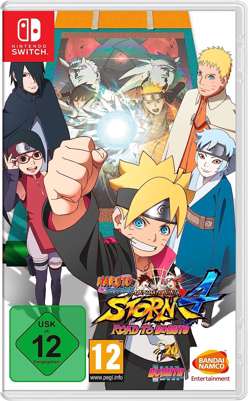 Naruto Shippuden Ultimate Ninja Storm 4: Road to Boruto - Nintendo Switch [Importación alemana]: Amazon.es: Videojuegos