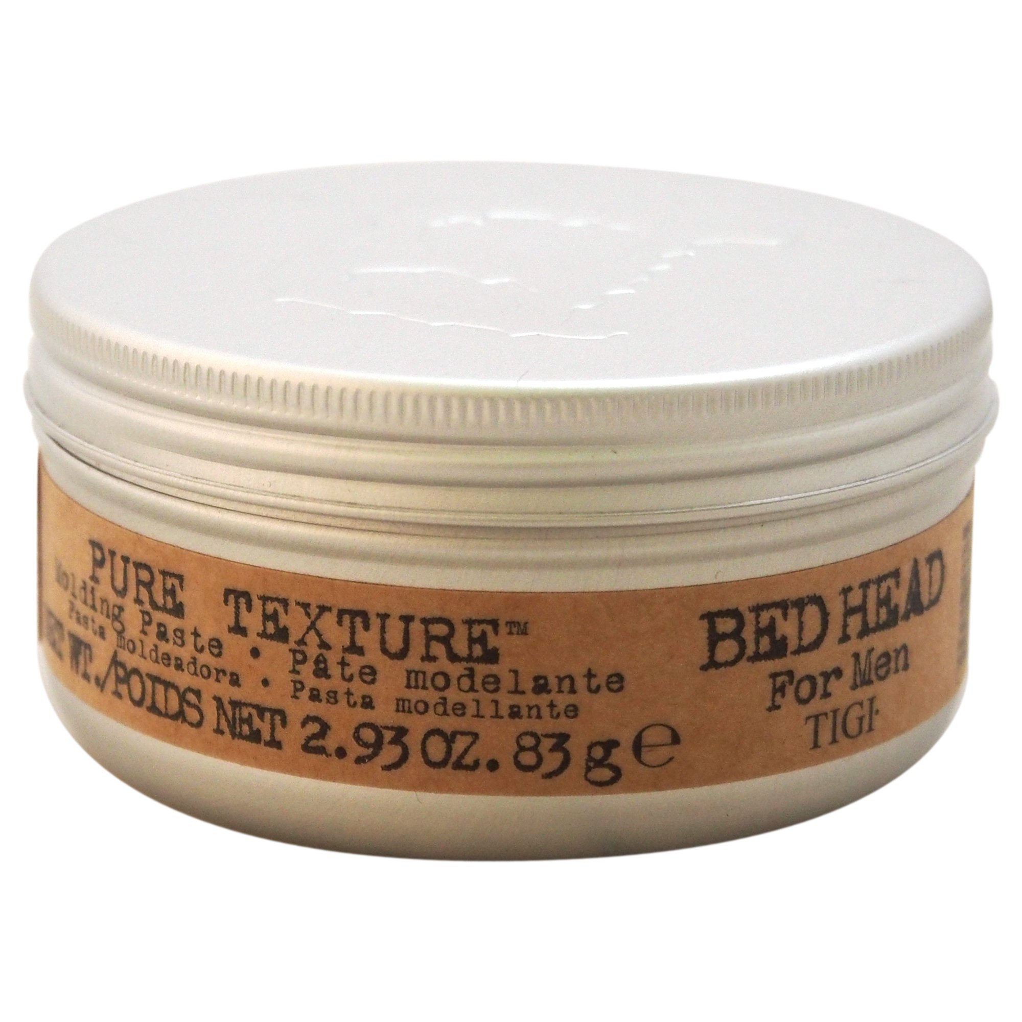 TIGI Bed Head Men Pure Texture Molding Paste, 2.93 Ounce