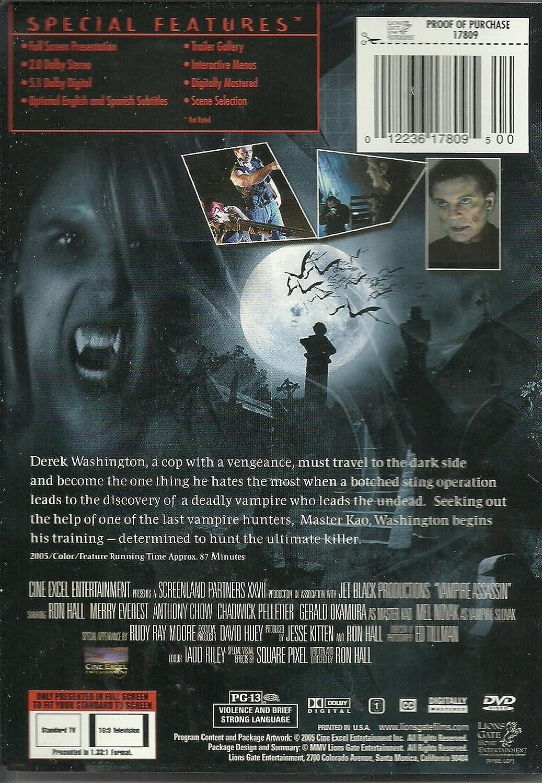 VAMPIRE ASSASSIN - Full Screen -Starring: Mel Novak, Gerald ...