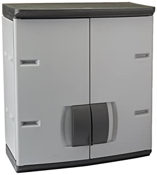 Amazon.com: Rubbermaid Resin Storage Cabinet (FG788800MICHR): Home ...