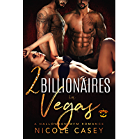 Two Billionaires in Vegas: A Halloween MFM Romance (Love by Numbers Book 1) (English Edition)