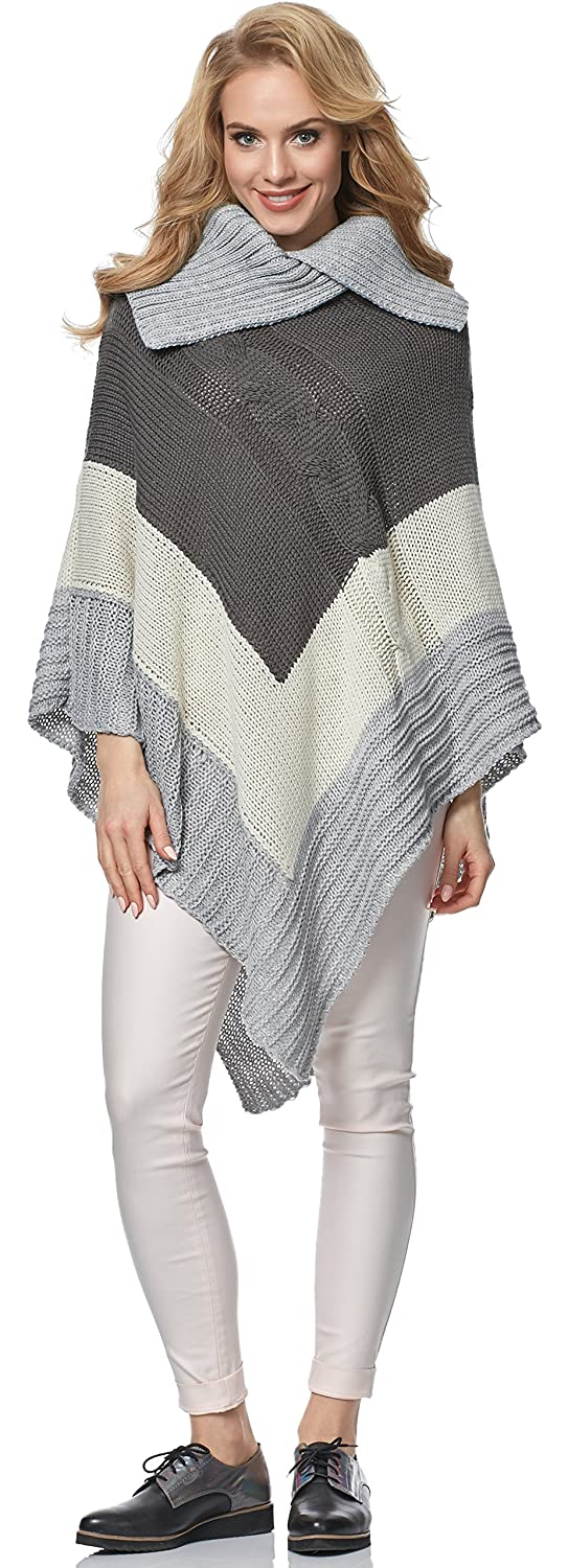 Merry Style Poncho Donna MSSE0019