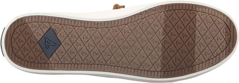 Sperry Top-Sider Crest Vibe Wash Linen Navy, Baskets Femme Oat