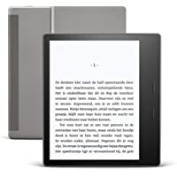 Kindle Oasis, nu met instelbare warme lichtkleur, waterdicht, 32 GB, gratis 4G + wifi, grafiet