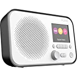 PURE 151125 Elan E3 Portable DAB/DAB+ and FM Radio, with Colour Display, Black