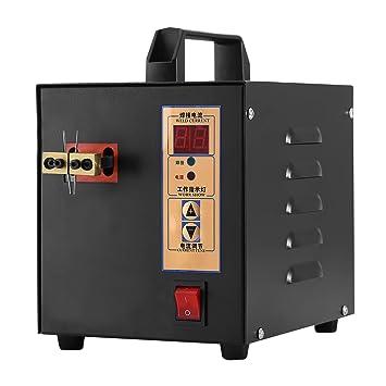 ... soldador 220 V 2,4 kW Spot soldador máquina Handeld recargable máquina de soldadura para moble teléfono paquete de baterías: Amazon.es: Coche y moto