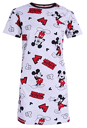 coupon codes pretty cheap release date: Chemise de Nuit Gris-Rouge Mickey Disney
