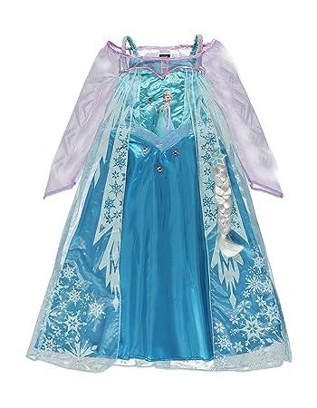 Disney Frozen Queen Elsa Costume (3-4 years)  sc 1 st  Amazon UK & Disney Frozen Queen Elsa Costume (3-4 years): Amazon.co.uk: Toys u0026 Games