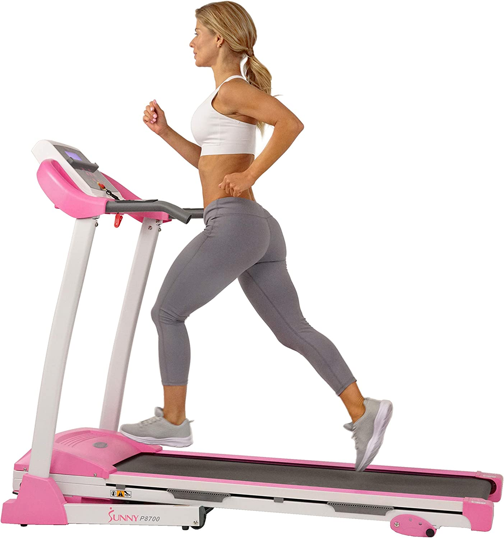 Sunny Health & Fitness Treadmill SF-T4400 Pink
