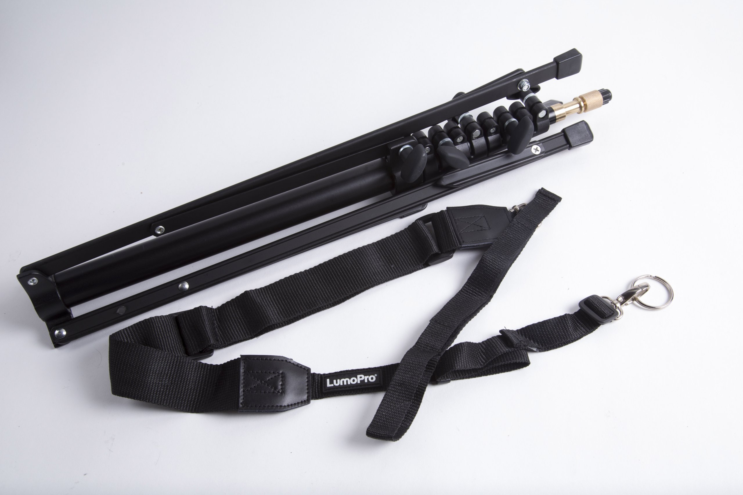 LumoPro Compact 7.5ft Stand with Carrying Strap
